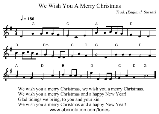 we wish you a merry christmas pdf