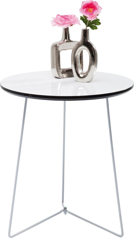 Beistelltisch Juno White 46 95 Beistelltisch Tisch Beistelltische