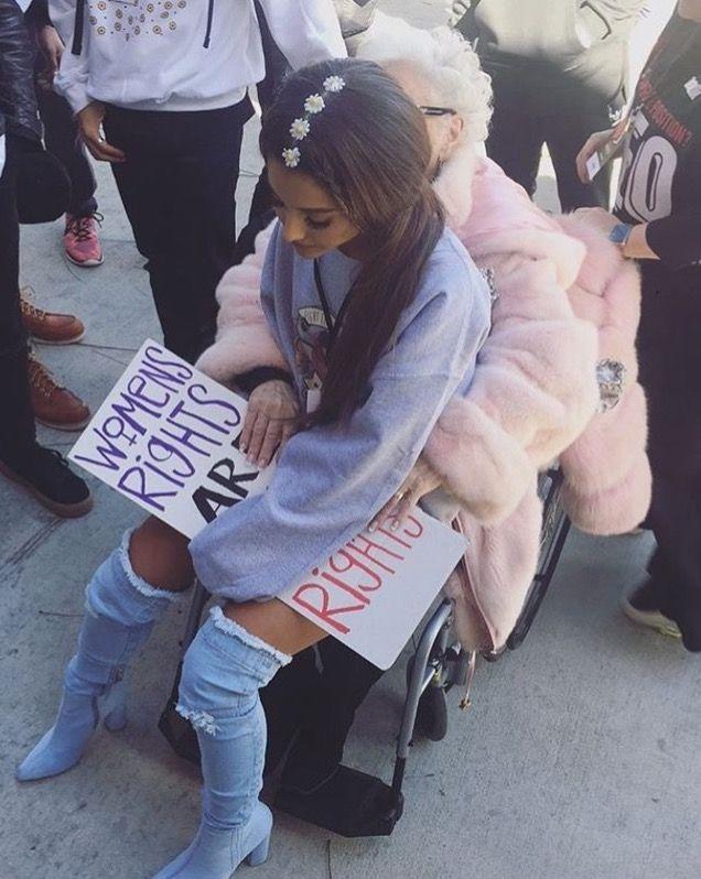 a6e922c6a4a Ariana grande women s March 2017