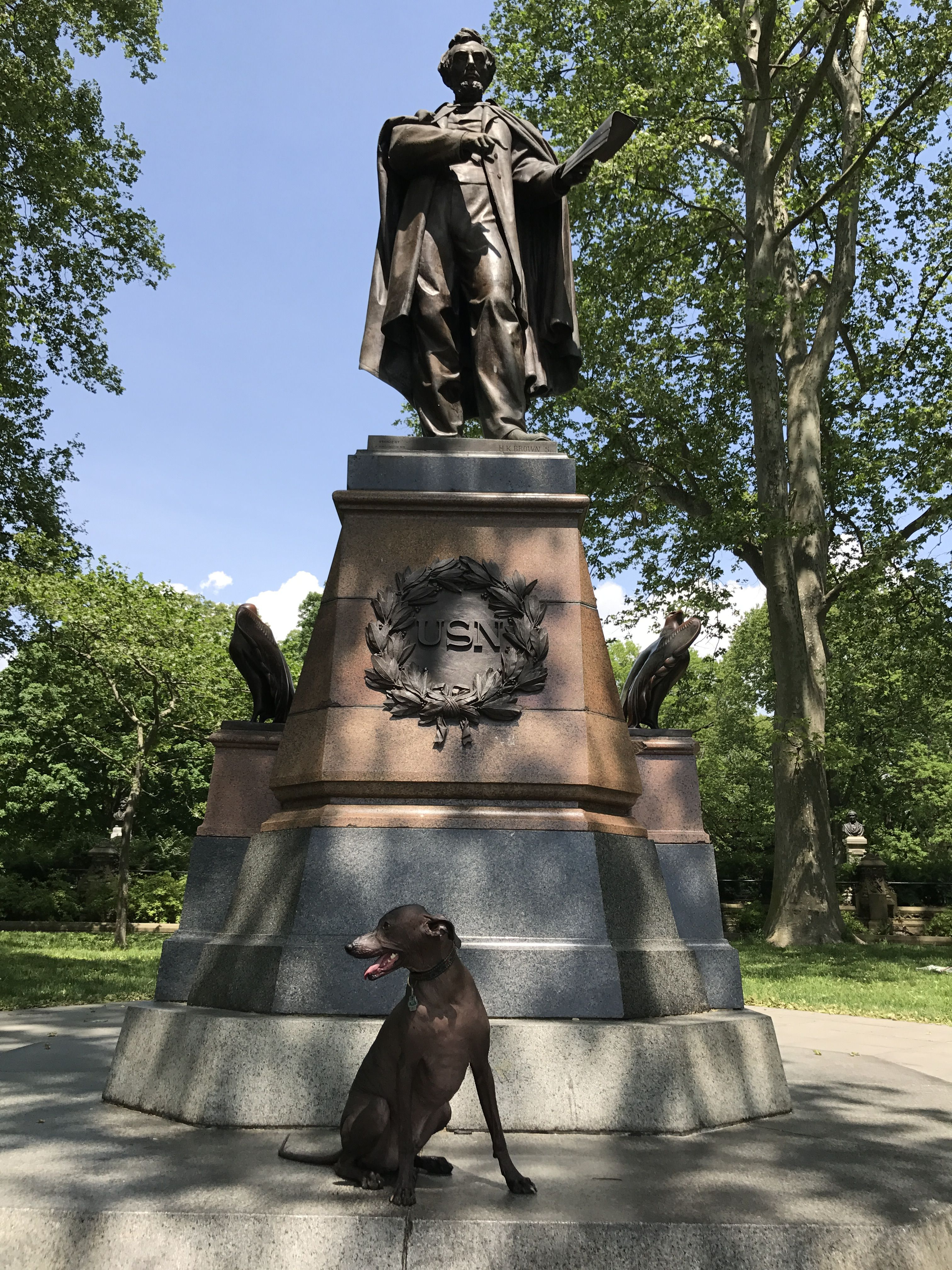 Statue of Abraham Lincoln, Prospect Park, Brooklyn