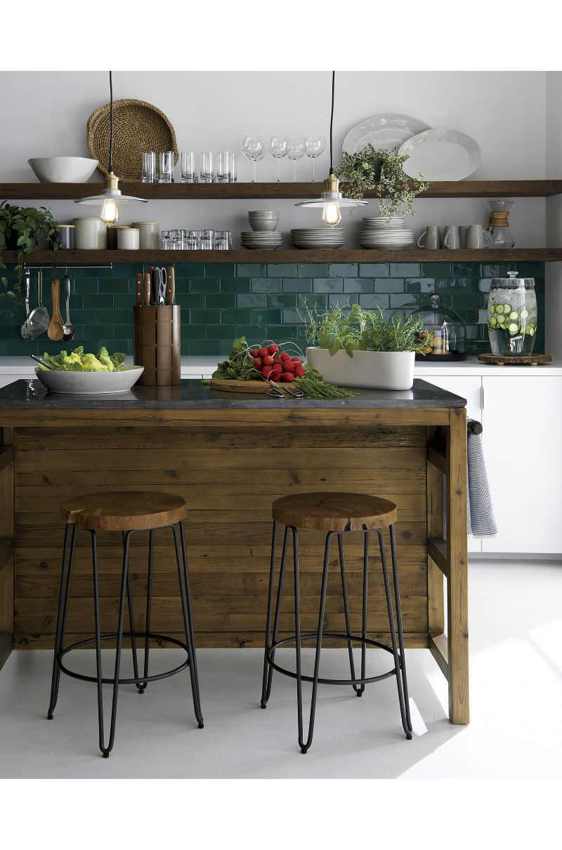 Origin Backless Counter Stool With Images Kitchen Inspirations