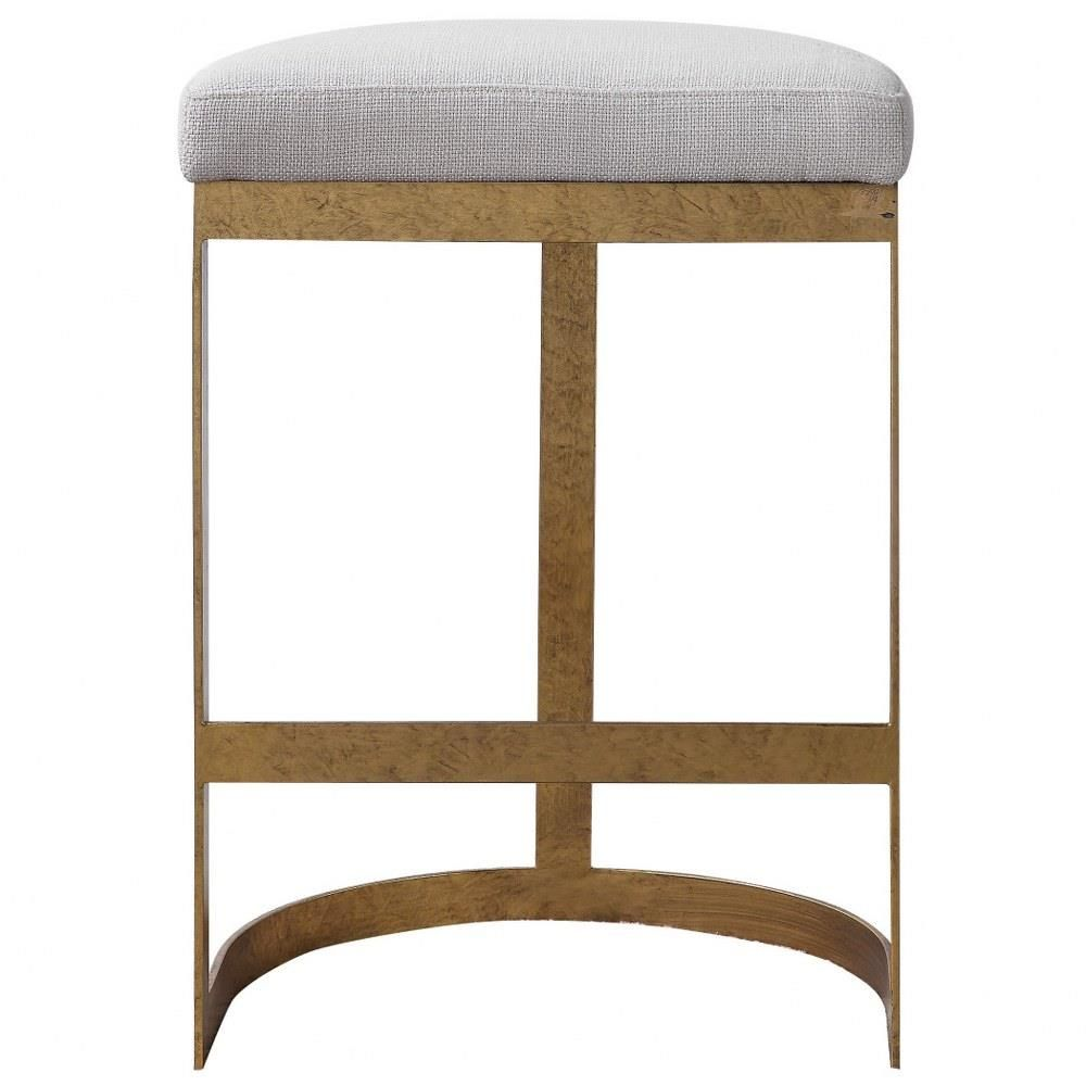 Uttermost 23523 Ivanna 26 Inch Counter Stool Counter Stools Backless Modern Counter Stools Counter Stools