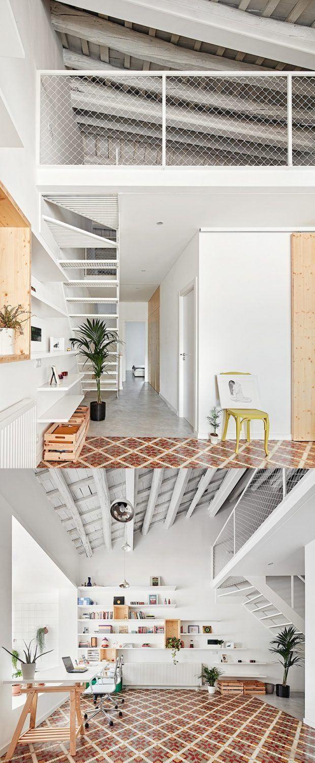 Cómo lograr una vivienda diáfana iluminada / http://transitoinicial.com/