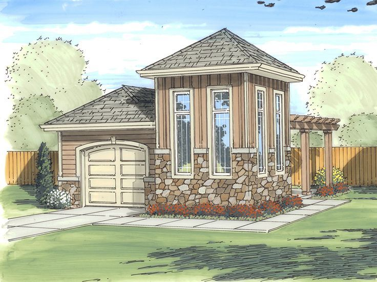 Lake House Garage Workshop Plans Garage Plan Garage Style