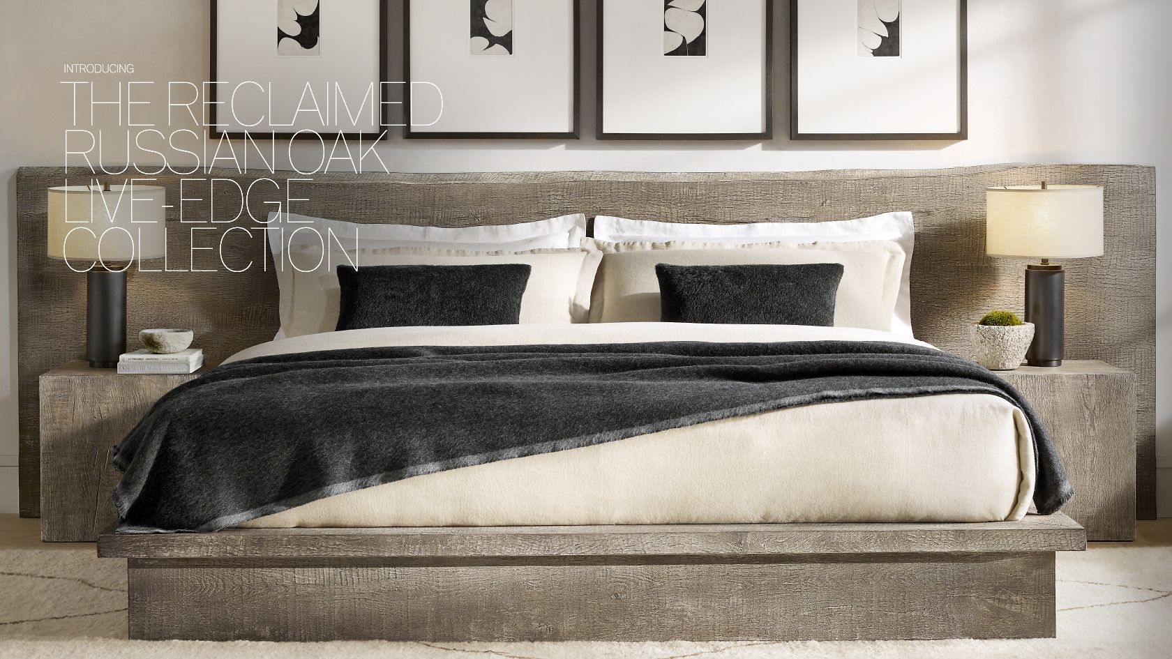 Rh Modern Explore The Live Edge Collection Restoration Hardware Bedroom Rh Modern Restoration Hardware Living Room