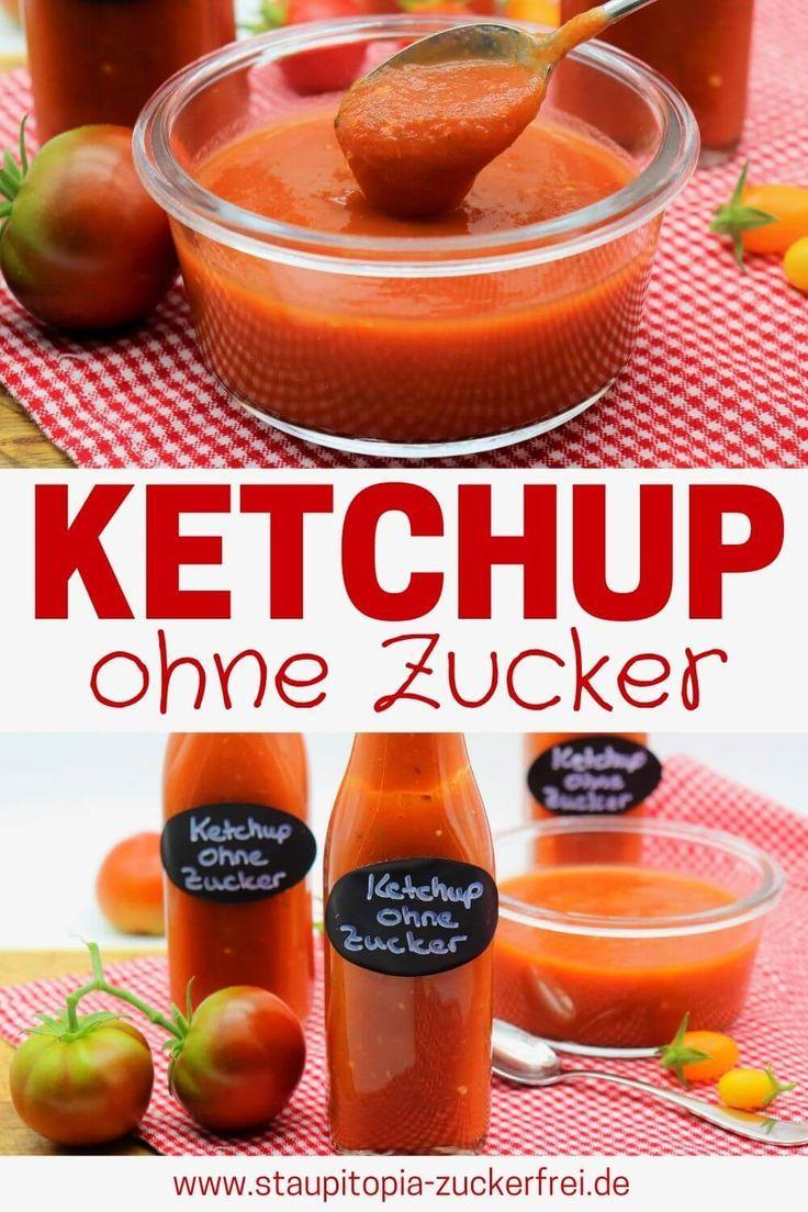 Ketchup ohne Zucker