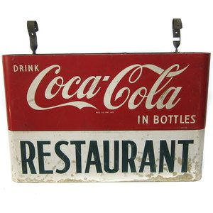 Coca-Cola Restaurant Sign now featured on Fab.