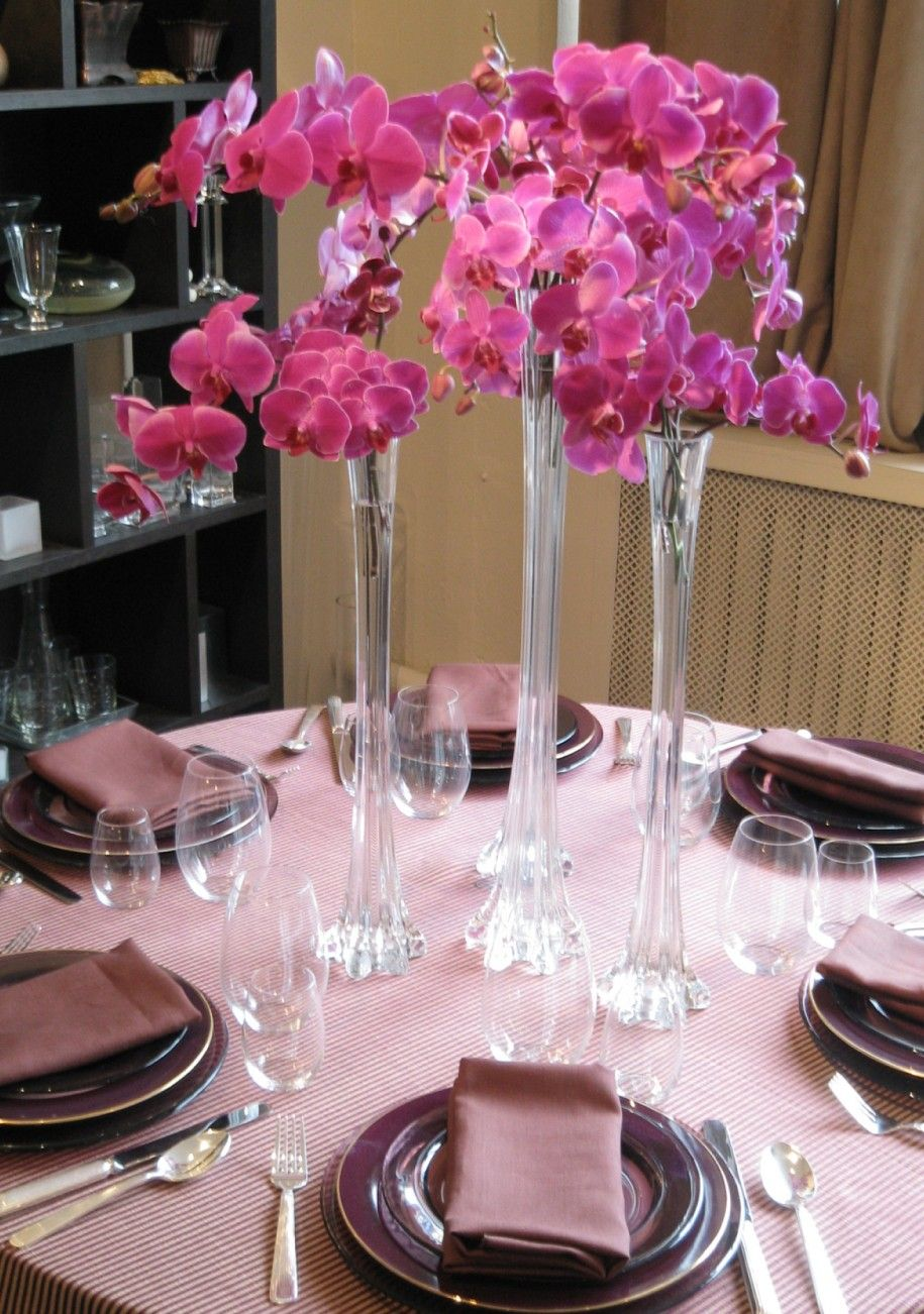 wedding decoration fabulous wedding dining table with pink. Black Bedroom Furniture Sets. Home Design Ideas