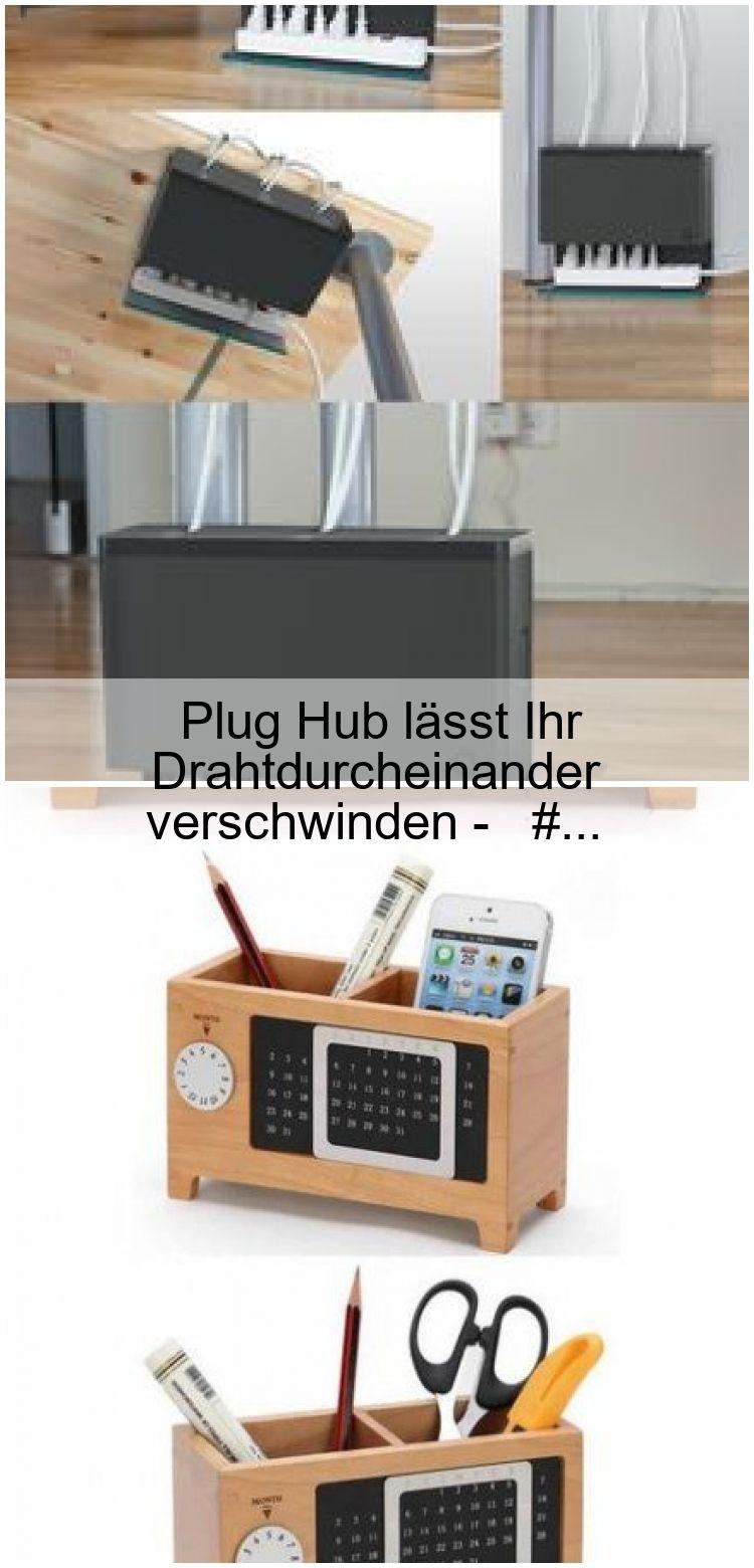 Plug Hub lässt Ihr Drahtdurcheinander verschwinden  Plug Hub lässt Ihr Drahtdurcheinander verschwinden