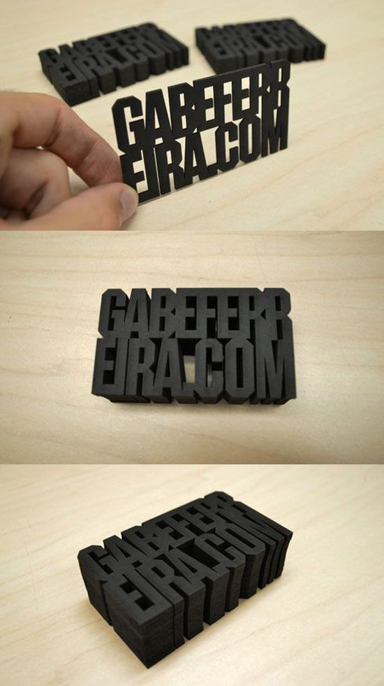 70 Really Cool Business Card Designs for Inspiration   Business ...