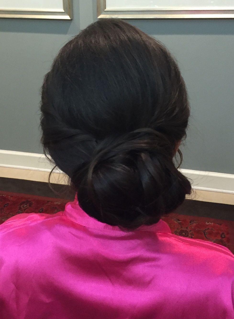 wedding hair by dannie simpson, located in jacksonville fl