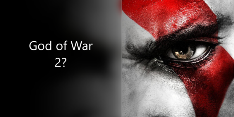 God Of War 2 Release On The Cards Ps4 Theme Revels Hidden