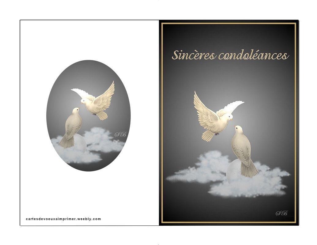 Carte Condoleances Imprimer Gratuite Cartes De Voeux A Imprimer Gratuitement Carte Condoleances Carte Carte Joyeux Noel