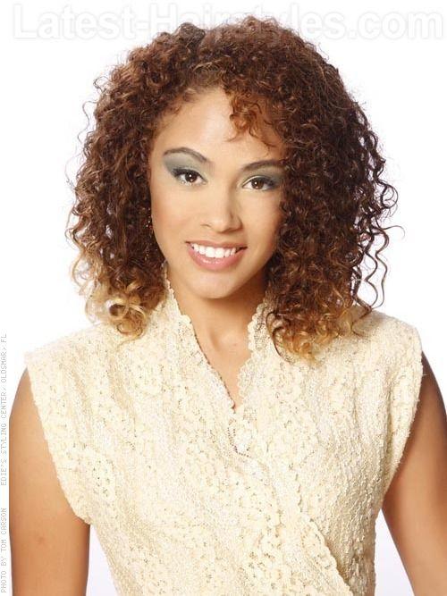 Naturally Curly Medium Length Hair 570