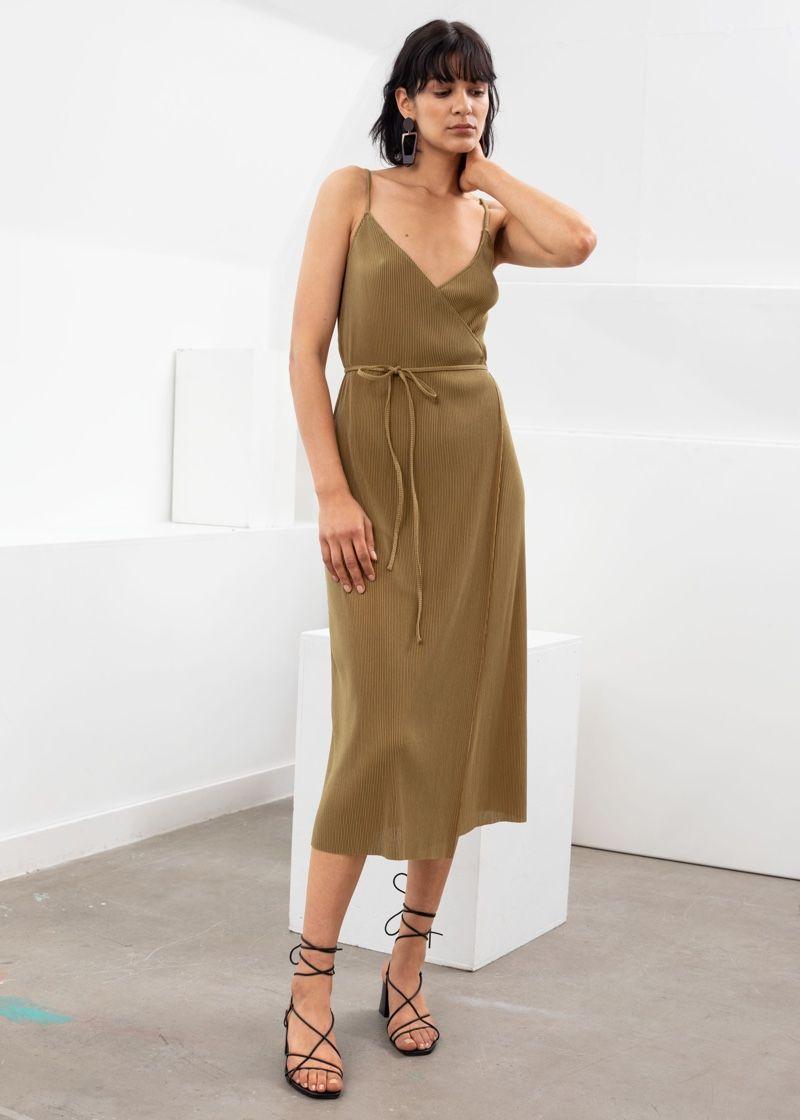 Bring The Heat See Other Stories High Summer Looks Wrap Dress Dresses Midi Dress [ 1120 x 800 Pixel ]