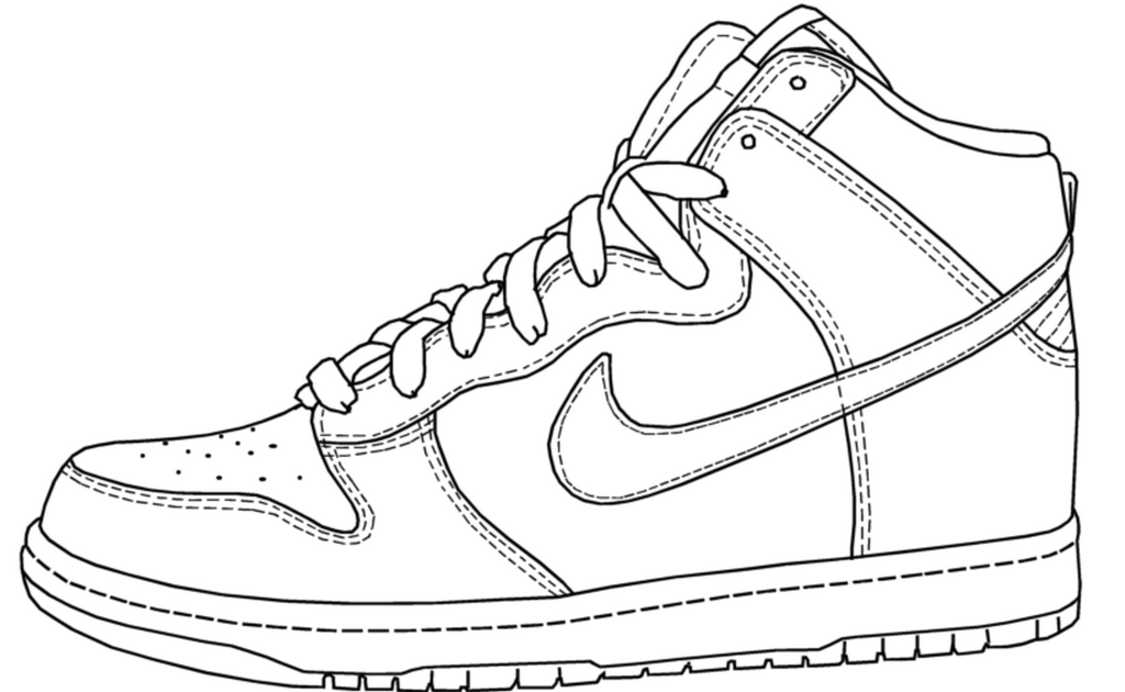 Nike Air Force Coloring Pages Shoes Sketsa Dan Gambar 27 Great Photo Of Nike Coloring Pages Pictures Of Shoes Shoe Bas In 2020 Shoes Drawing Nike Pictures Of Shoes
