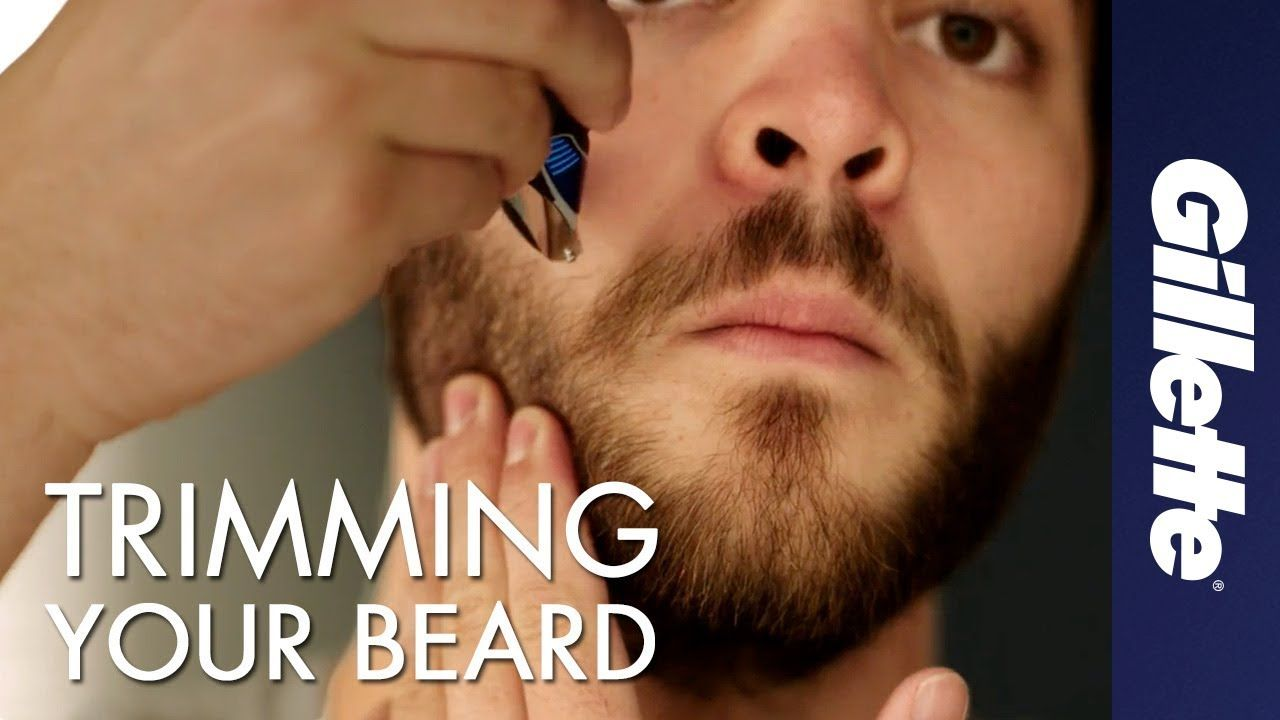How to Trim Your Beard Beard Grooming Tips Gillette