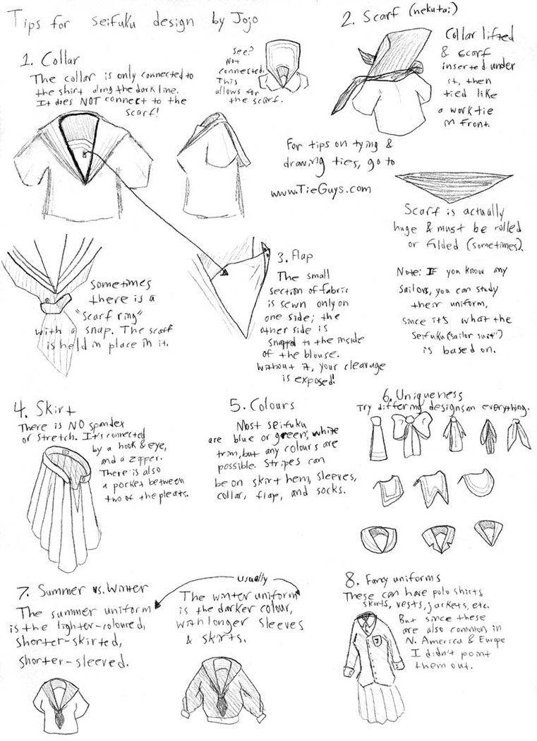 Seifuku tutorial by jojobynxfwee seifuku pinterest tutorials seifuku tutorial by jojobynxfwee jeuxipadfo Images