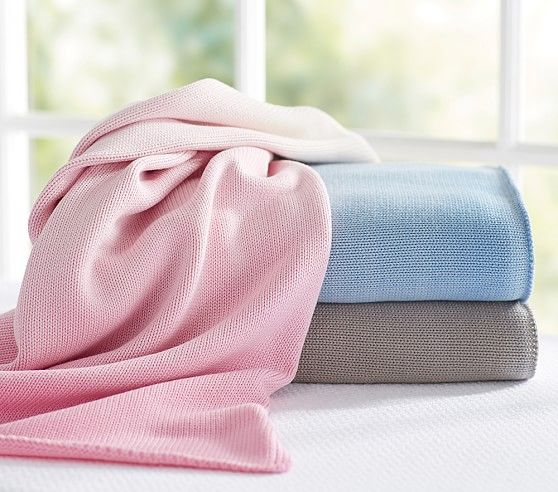 Pottery Barn Kids' embroidered baby blankets feature plush and cuddly  designs perfect for baby. Find swaddling blankets and wrap up your baby in  cozy ...