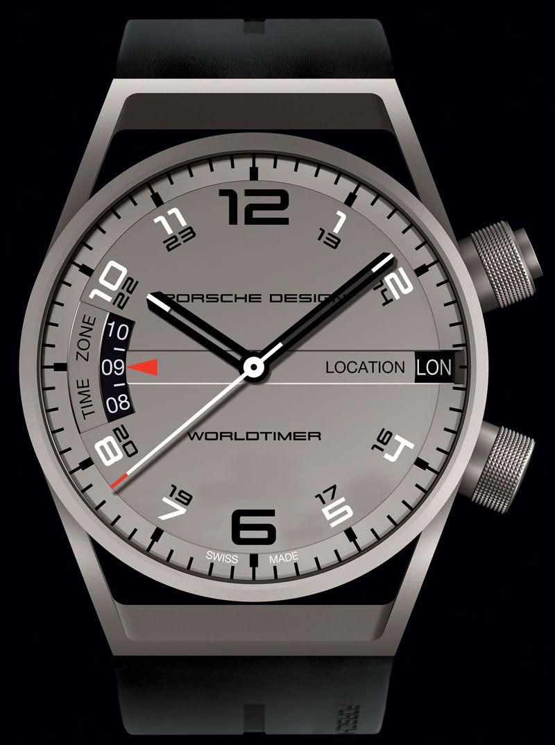 Porsche Design Worldtimer Man Style Luxury Watches And