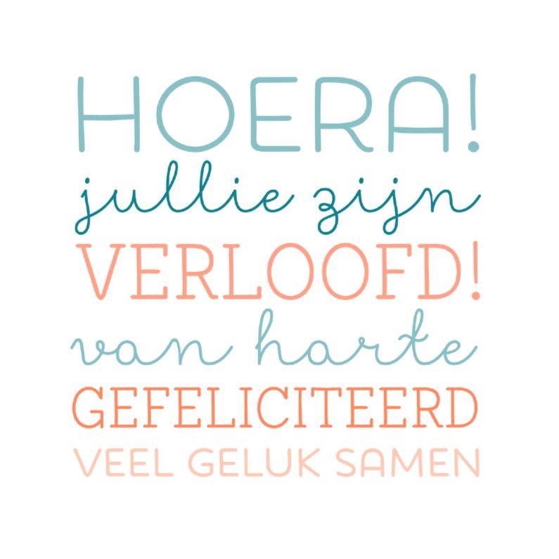 gefeliciteerd verloofd Hoera verloofd & geluk | diverse felicitaties | Pinterest | Happy  gefeliciteerd verloofd