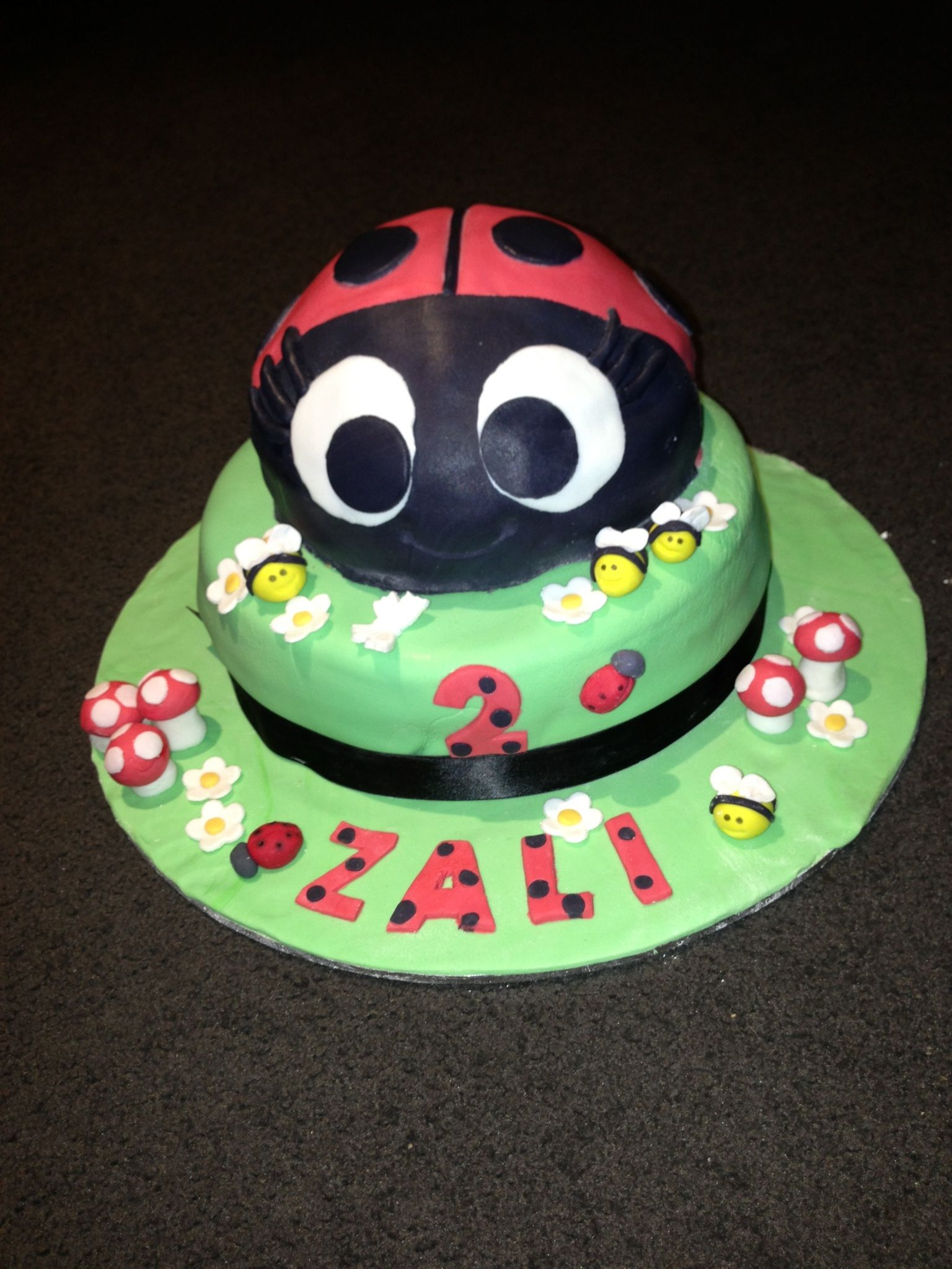Lady Bug Birthday Cake Birthday Board Bugs Pinterest Bug
