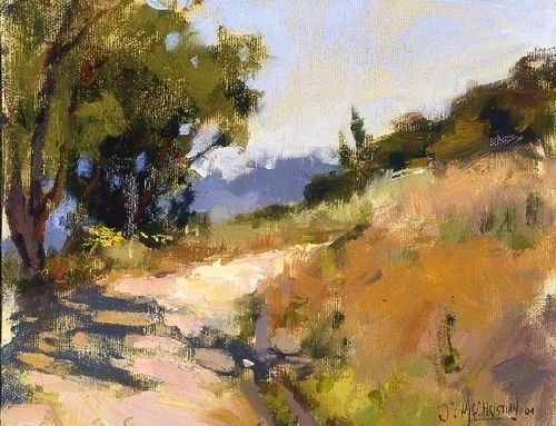 Sunny Horizon By Jennifer Mcchristian Oil 8 X 10