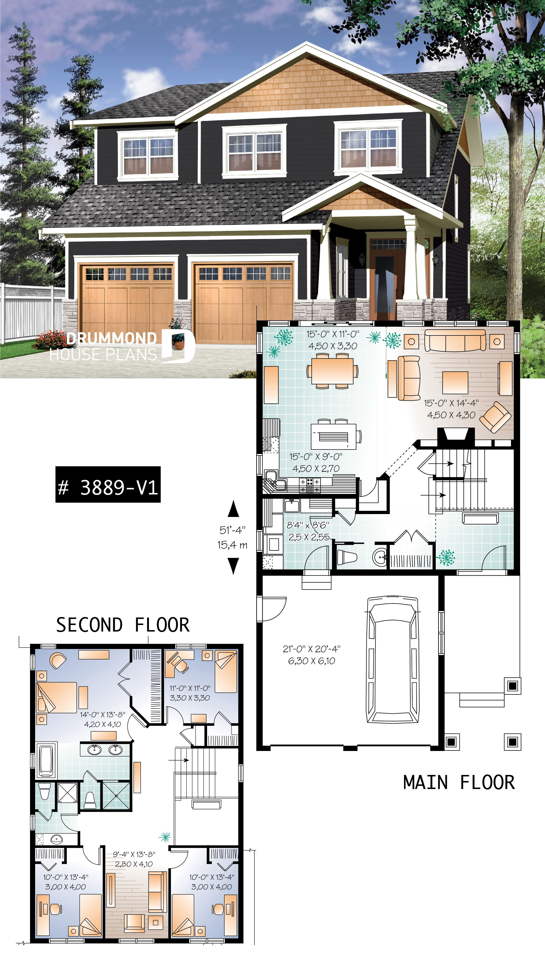 Discover The Plan 3889 V1 Addison 2 Which Will Please You For Its 5 4 Bedrooms And For Its Craftsman Northwest Styles House Blueprints Craftsman House Plans Sims House Design