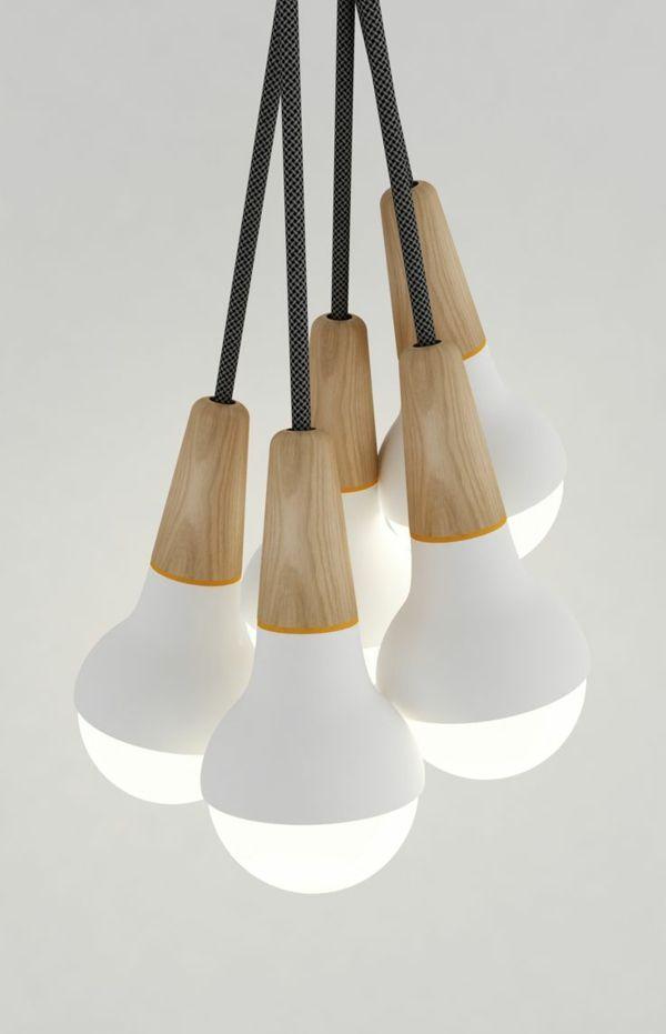 Ausgefallene hängelampen  moderne lampe pendelleuchten design schöne wohnideen | Küche ...