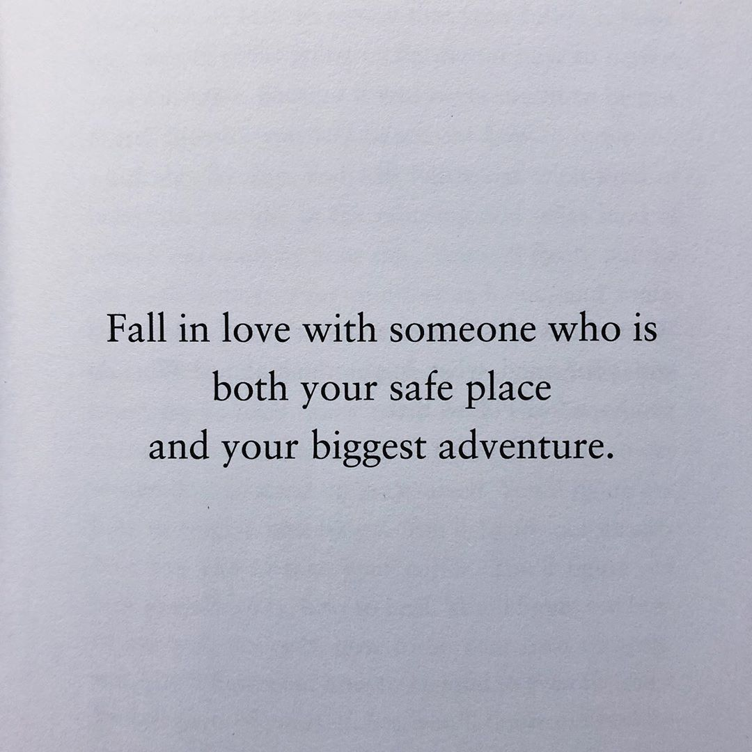 "Photo of Bianca Sparacino on Instagram: ""Fall in love with someone who chooses you. Someone who fights for what you have when difficulty hangs heavy in the air, someone who insists…"""