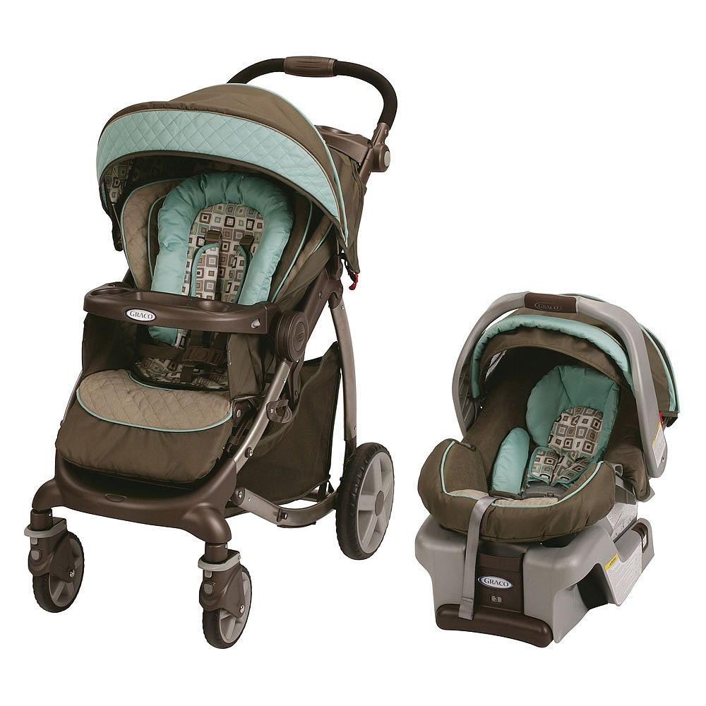 Graco Stylus Travel System With Snugride Classic Connect 30 Infant Car Seat Soho Square