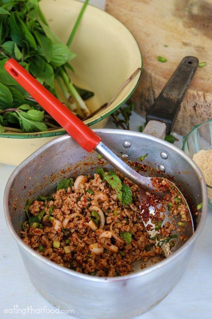 Thai larb recipe httpeatingthaifoodfithai larb recipe food thai larb recipe forumfinder Gallery