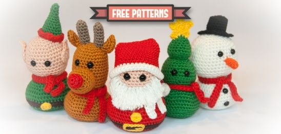 Christmas Busts By Dennis Van Den Brink Project Crochet Toys