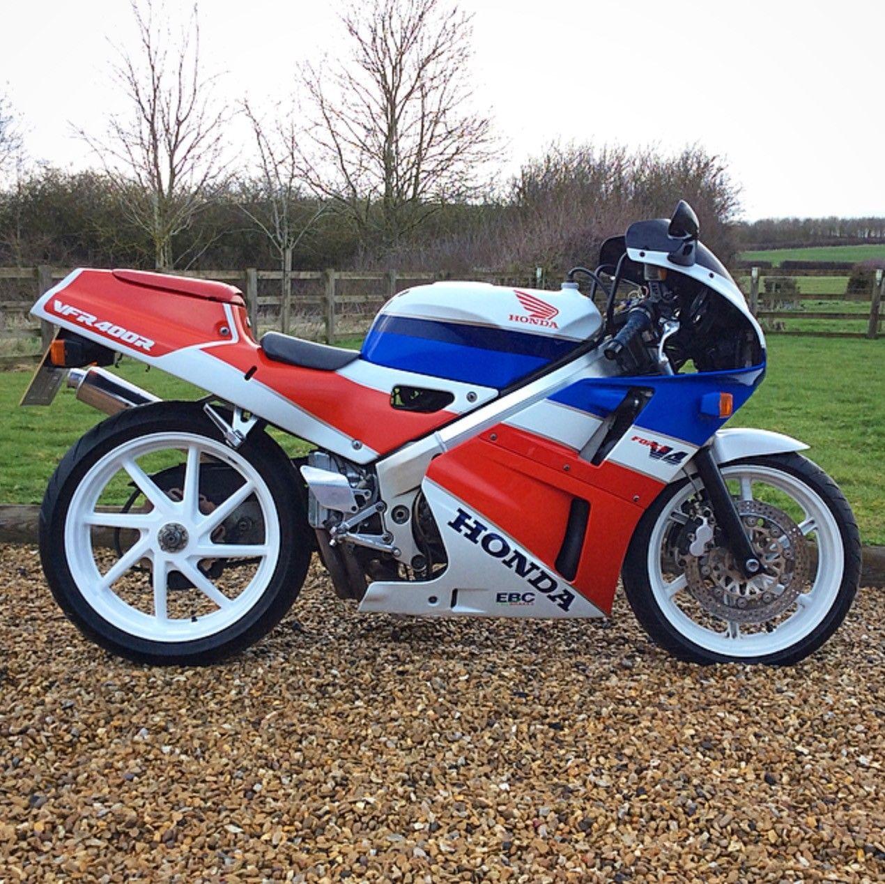 Ebay Vintage Honda Vfr400 Nc30 1988 Classic Motorbike Retro