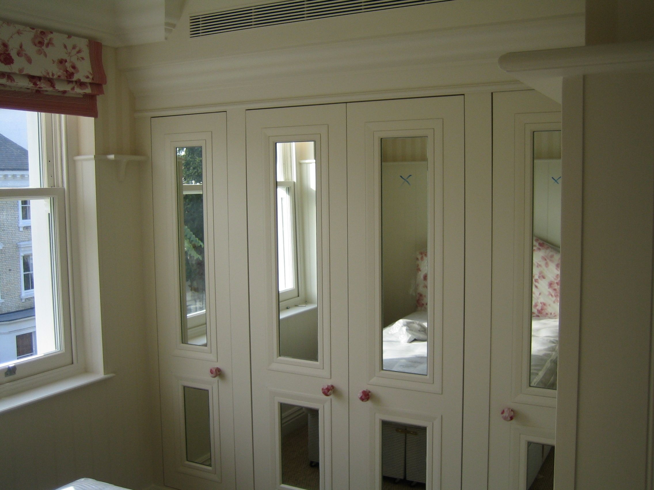 scale wrong but mirror inset wardrobe doors