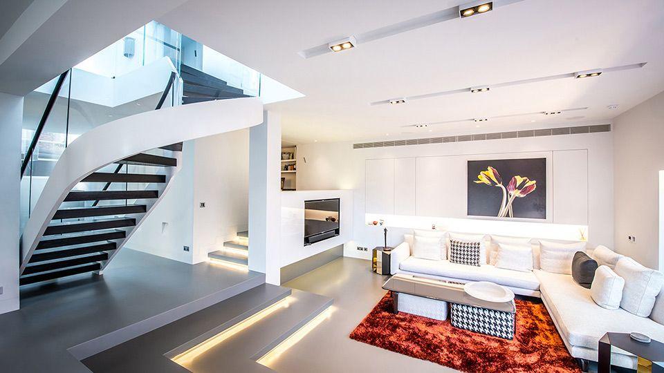 living room led lighting ideas
