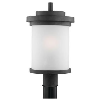 Winnetka 1 light forged iron outdoor post top gull iron and lights sea gull lighting winnetka 1 light forged iron outdoor post top 82660 185 aloadofball Choice Image