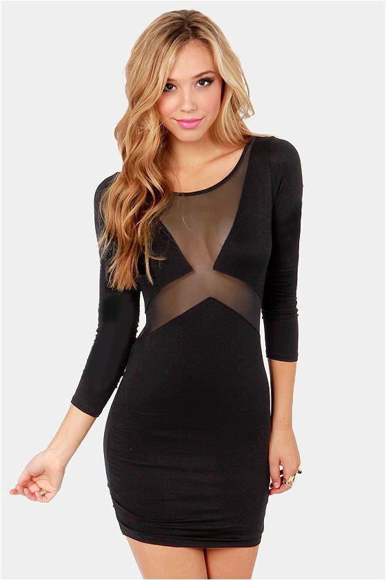 Black Dresses Cut Out