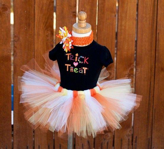 Trick or Treat Skirt Tutus  Such) Pinterest Tutu and Tutu - halloween tutu ideas