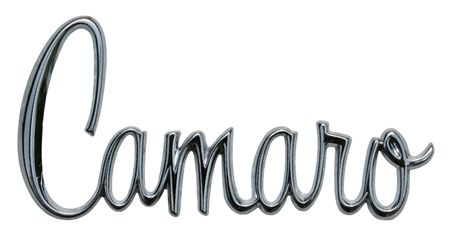 Camaro Logos And Symbols Clic Logo Metal Sign Chevy Mall