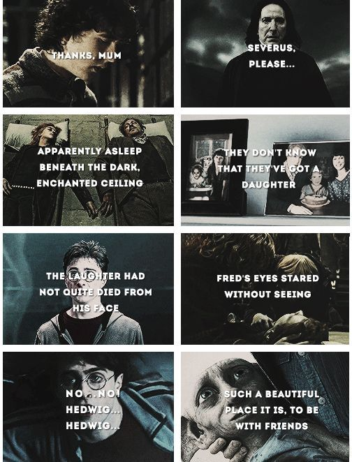 Sad Harry Potter Book Quotes
