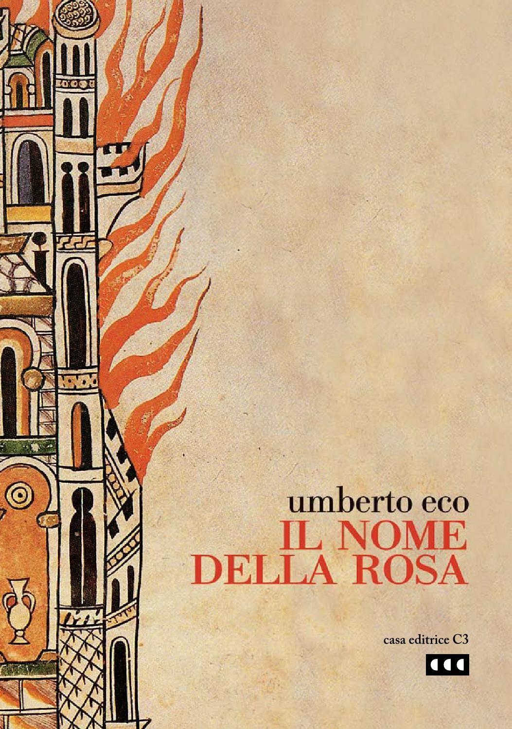Il Nome Della Rosa Edizione Celebrativa Book Writer Books Book Cover Design
