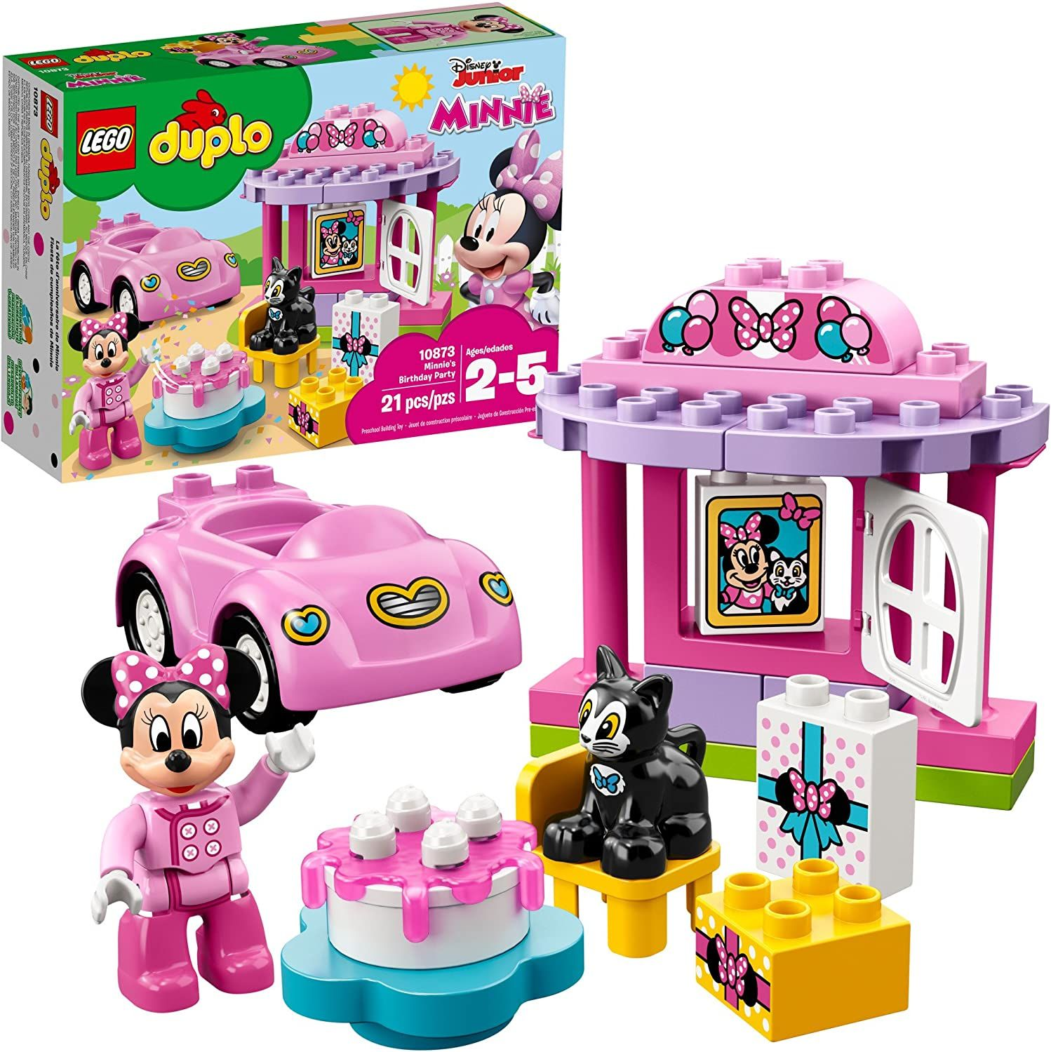 Photo of LEGO DUPLO Minnie's Birthday Party 10873 Building Blocks (21 Pieces) by LEGO