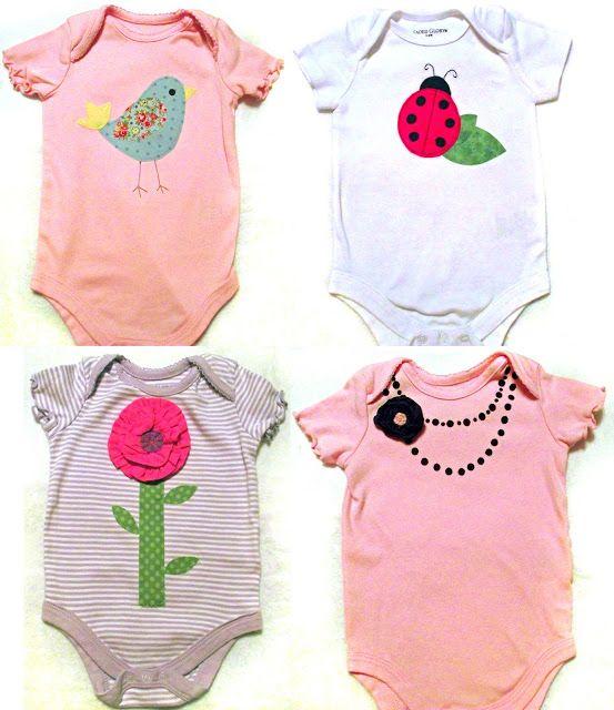 Baby onesies, so cute!