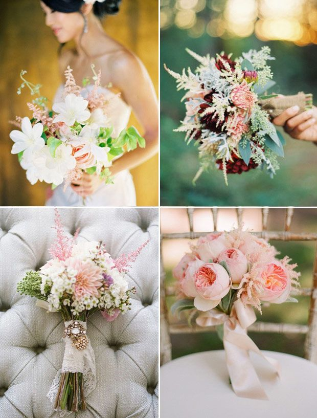 Astilbe Wedding, Astilbe Bouquet, Astilbe Wedding Decor | OneFabDay.com