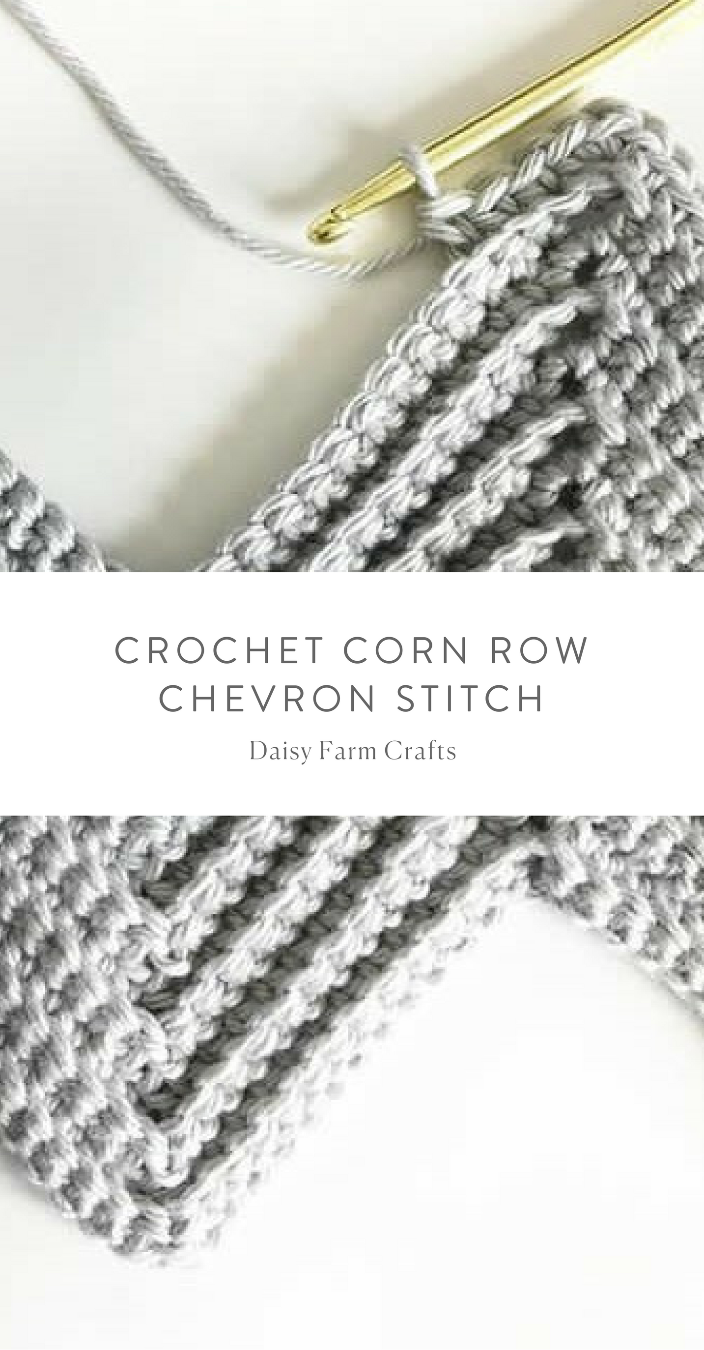Crochet Corn Row Chevron Stitch | Yarn: crochet & knitting etc ...