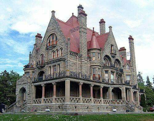Craig Darroch Mansion An Amazing Gothic Victorian House In British Columbia