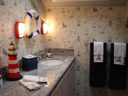 Nautica Bathroom Bathroom Designs The Nautical Beach Decor Nautical Bathroom Decor Nautical Bathrooms Bathroom Design