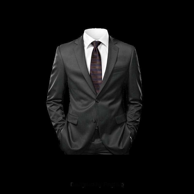 Black Suit, Workplace, Suit, Male PNG Transparent Clipart