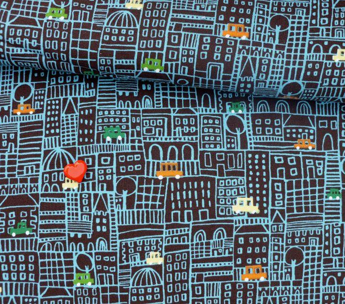 Fabric - Honk Honk - Michael Miller